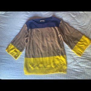 Three-Toned Sweater